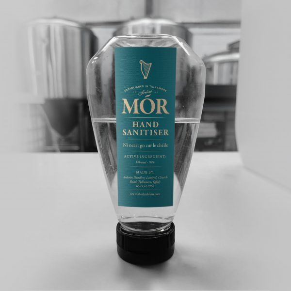 Mór Hand Sanitiser 250ml bottle